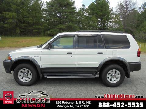 2001 Mitsubishi Montero Sport for sale in Milledgeville, GA