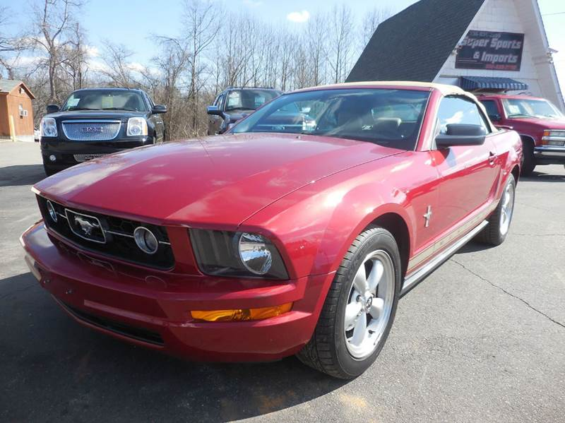 2008 ford mustang v6 deluxe v6 deluxe 2dr convertible in. Black Bedroom Furniture Sets. Home Design Ideas