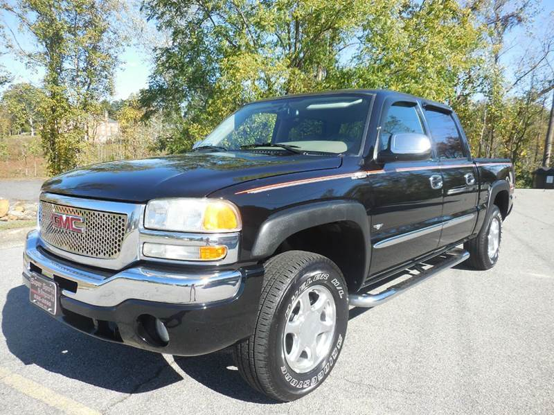 2004 gmc sierra 1500 slt 4dr crew cab 4wd sb in elkin nc. Black Bedroom Furniture Sets. Home Design Ideas