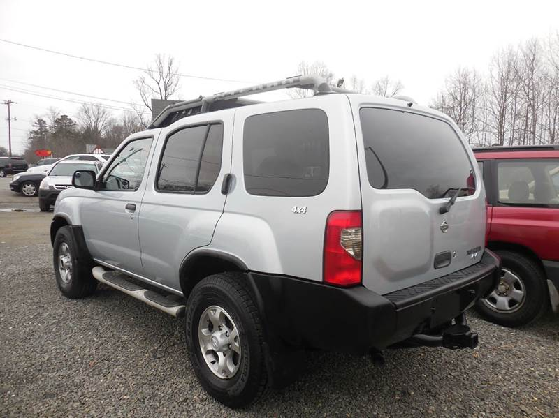 2001 nissan xterra xe v6 4dr xe v6 4wd suv in elkin nc. Black Bedroom Furniture Sets. Home Design Ideas