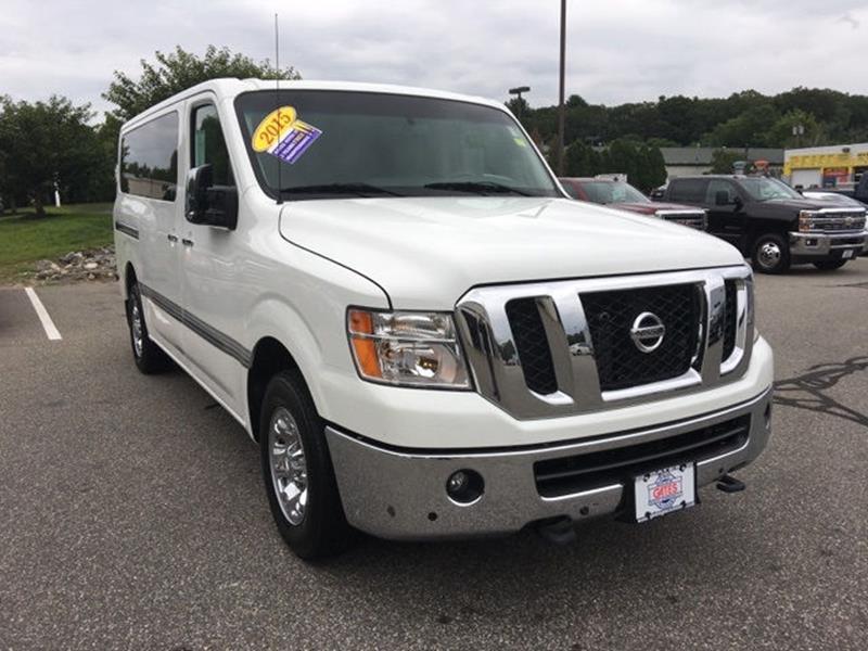 a nissan for sale updates few passenger nv and cargo van get