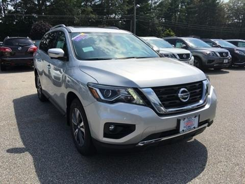 2017 Nissan Pathfinder for sale in North Windham CT