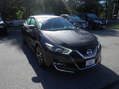 2016 Nissan Maxima for sale in North Windham CT