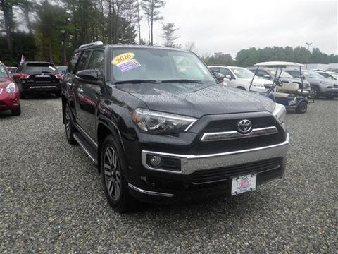 2016 Toyota 4Runner for sale in North Windham CT