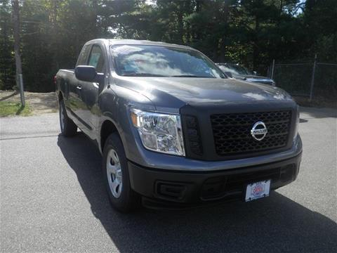 2017 Nissan Titan for sale in North Windham, CT