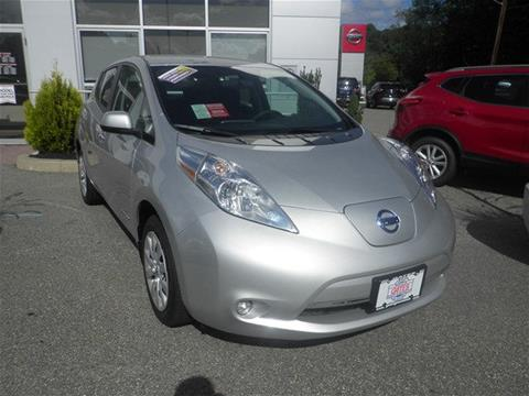 2017 Nissan LEAF for sale in North Windham, CT
