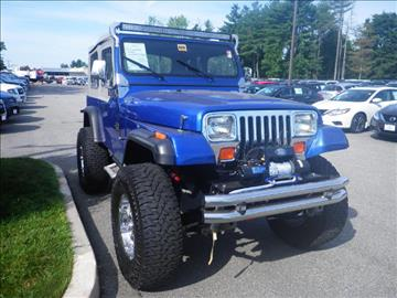 1989 jeep wrangler for sale in north windham ct. Cars Review. Best American Auto & Cars Review