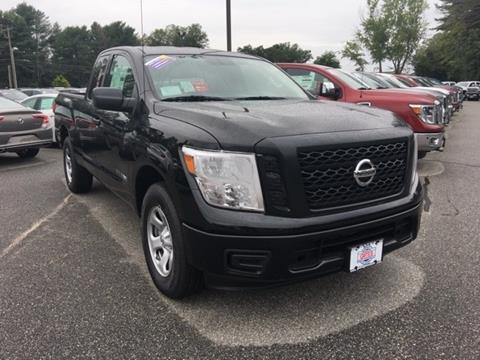 2017 Nissan Titan for sale in North Windham CT