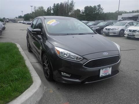 2016 Ford Focus for sale in North Windham CT