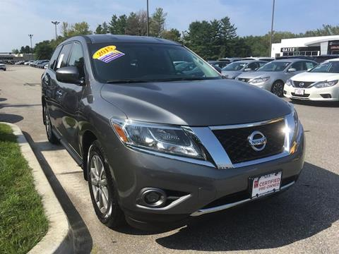 2015 Nissan Pathfinder for sale in North Windham CT
