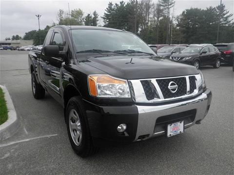 2014 Nissan Titan for sale in North Windham CT
