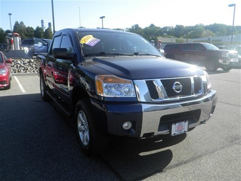 2012 Nissan Titan for sale in North Windham CT