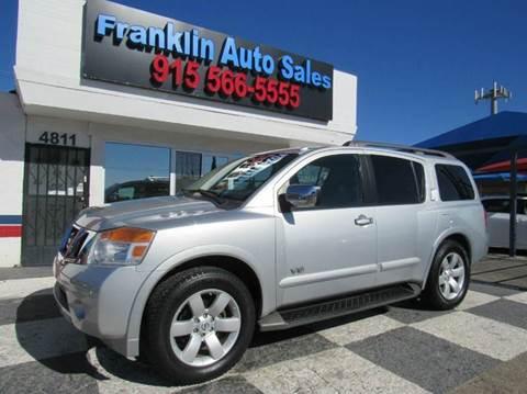 Nissan Armada For Sale El Paso Tx Carsforsale Com
