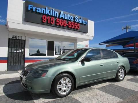2005 Nissan Altima for sale in El Paso, TX
