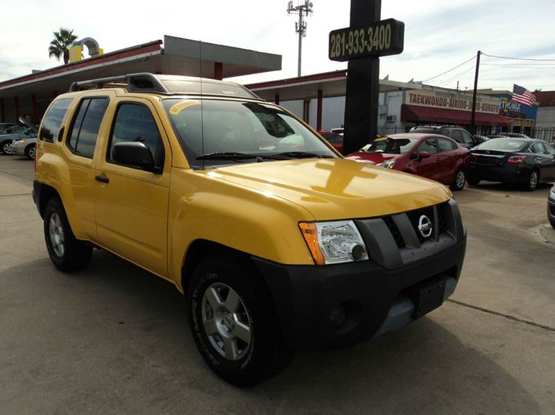 2007 nissan xterra s 4dr suv 4l v6 5a in houston tx. Black Bedroom Furniture Sets. Home Design Ideas