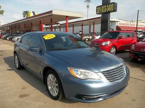 2011 Chrysler 200 for sale in Houston, TX