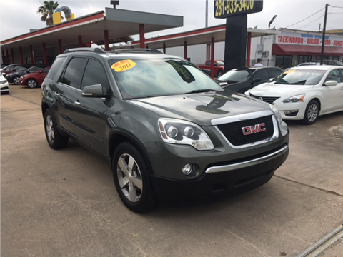 2011 GMC Acadia for sale in Houston, TX