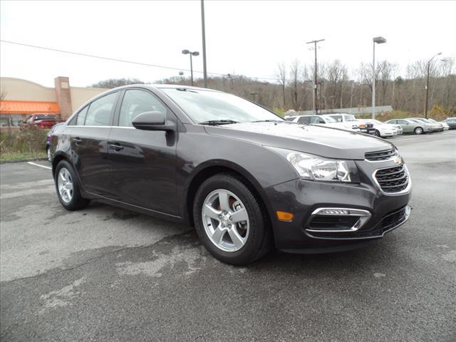 2015 CHEVROLET CRUZE 1LT AUTO 4DR SEDAN W1SD dk gray crumple zones front and rearroll stabilit