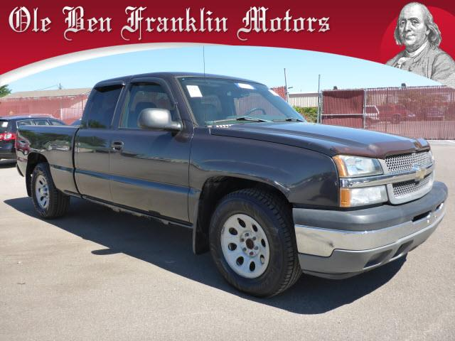 2005 CHEVROLET SILVERADO 1500 WORK TRUCK dk gray airbags - front - dualair conditioning - front