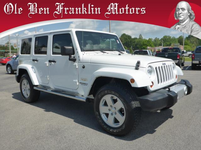 2012 JEEP WRANGLER UNLIMITED SAHARA 4X4 4DR SUV white roll stability controlhill ascent assists