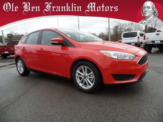 2015 FORD FOCUS SE 4DR HATCHBACK red impact sensor post-collision safety systemcrumple zones fro