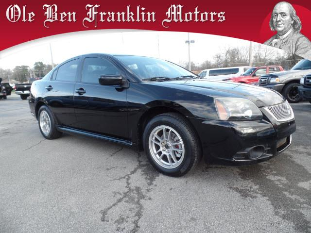 2010 MITSUBISHI GALANT ES 4DR SEDAN black crumple zones front and rearstability controlabs brak