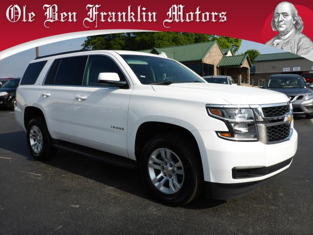 2015 CHEVROLET TAHOE LT 4X2 4DR SUV white rear view camerarear view monitor in dashengine cylin