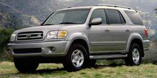 2001 TOYOTA SEQUOIA SR5 4WD 4DR SUV unspecified delivers 17 highway mpg and 14 city mpg this toy