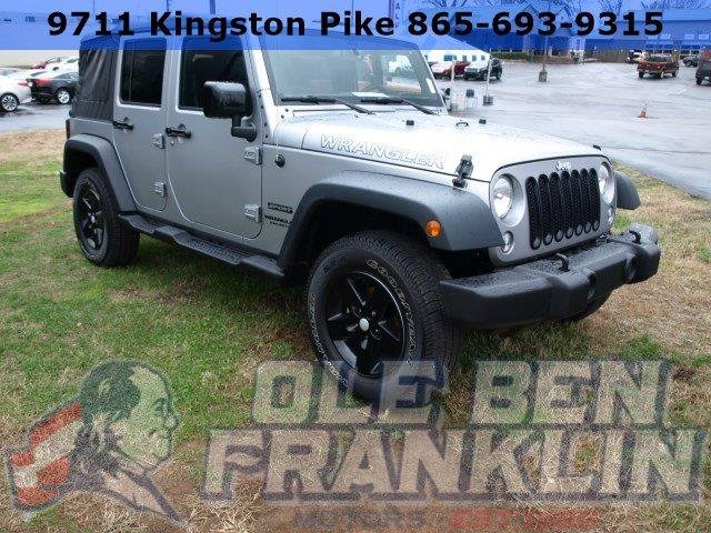 2015 JEEP WRANGLER UNLIMITED silver scores 21 highway mpg and 16 city mpg this jeep wrangler unl