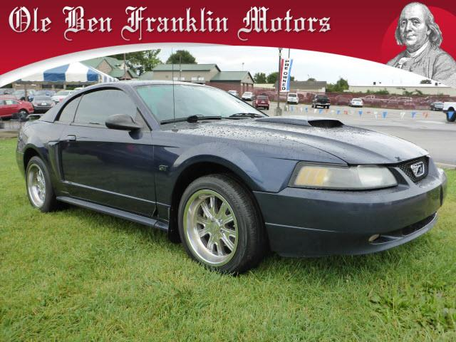 2002 FORD MUSTANG GT DELUXE 2DR COUPE blue security anti-theft alarm systemabs brakes 4-wheel