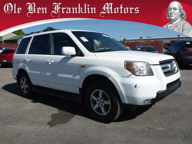 2006 HONDA PILOT EX-L 4DR SUV 4WD white stability controlsecurity anti-theft alarm systemair co