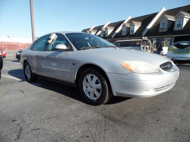 2003 FORD TAURUS SEL DELUXE 4DR SEDAN silver security anti-theft alarm systemabs brakes 4-wheel