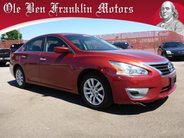 2014 NISSAN ALTIMA 25 S 4DR SEDAN red stability control electronicsecurity remote anti-theft al