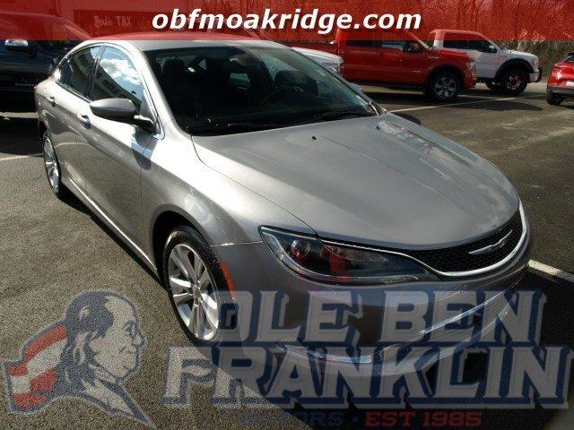 2015 CHRYSLER 200 LIMITED 4DR SEDAN billet silver metallic clearco boasts 36 highway mpg and 23 c