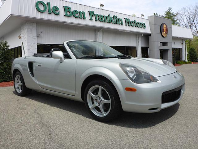 2001 TOYOTA MR2 SPYDER BASE 2DR CONVERTIBLE silver abs brakes 4-wheelair conditioning - front