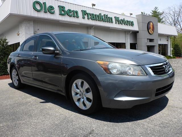 2009 HONDA ACCORD EX 4DR SEDAN 5A polished metal metallic scores 30 highway mpg and 21 city mpg