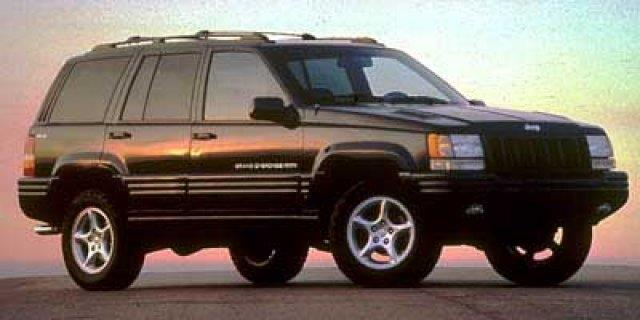 1998 JEEP GRAND CHEROKEE LIMITED 4DR SUV silver scores 21 highway mpg and 16 city mpg this jeep