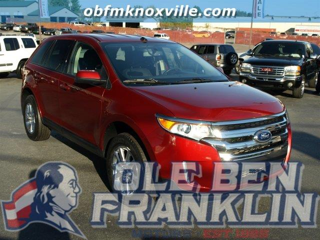 2013 FORD EDGE SEL 4DR SUV ruby red metallic only 26281 miles scores 27 highway mpg and 19 city