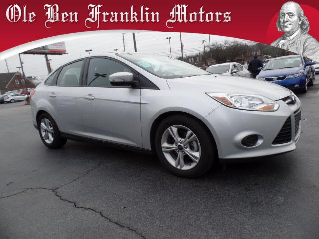 2014 FORD FOCUS SE 4DR SEDAN silver impact sensor post-collision safety systemstability control