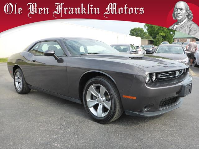 2015 DODGE CHALLENGER SXT 2DR COUPE gray impact sensor post-collision safety systemsecurity anti