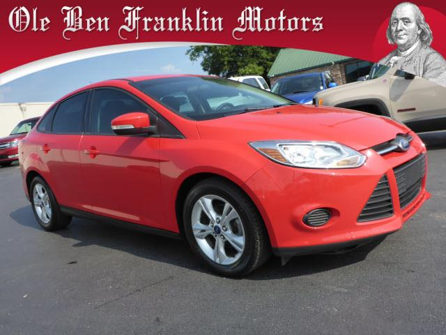 2013 FORD FOCUS SE 4DR SEDAN red impact sensor post-collision safety systemsecurity anti-theft a