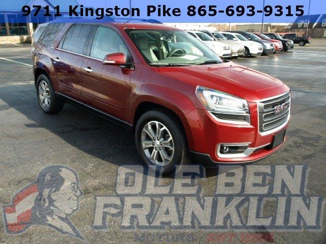 2015 GMC ACADIA SLT-1 AWD 4DR SUV red delivers 23 highway mpg and 16 city mpg this gmc acadia de