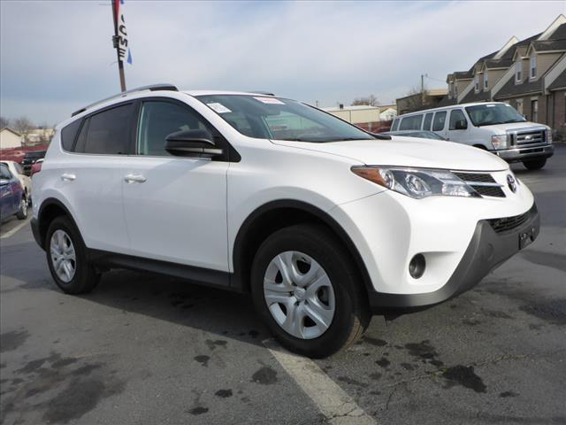 2013 TOYOTA RAV4 LE AWD 4DR SUV white crumple zones frontstability control electronicabs brakes