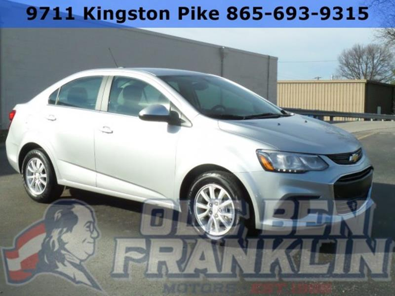 Used chevrolet sonic for sale in holton ks for Ole ben franklin motors knoxville