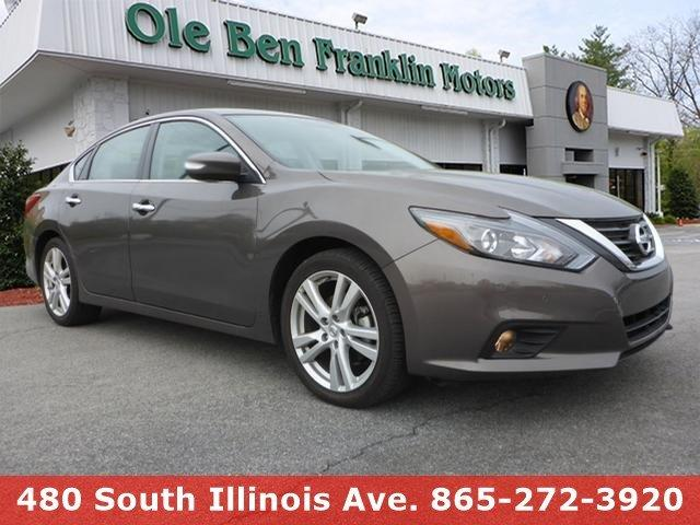 2016 NISSAN ALTIMA 35 SL brown iihs top safety pick boasts 32 highway mpg and 22 city mpg thi