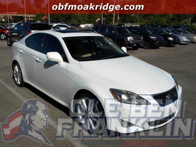 2007 LEXUS IS 250 BASE 4DR SEDAN 25L V6 6A starfire pearl boasts 32 highway mpg and 24 city mp