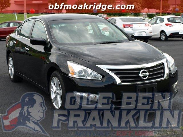 2013 NISSAN ALTIMA 25 4DR SEDAN super black this nissan altima has a dependable gas i4 25l152
