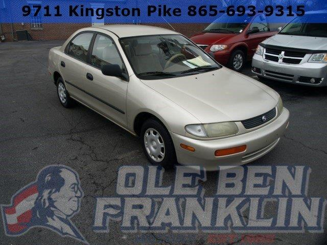1996 MAZDA PROTEGE tan only 166589 miles variable pwr-assist engine-rpm-sensing rack  pinion s