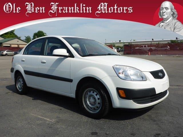 2007 KIA RIO white only 101824 miles scores 35 highway mpg and 32 city mpg this kia rio delive