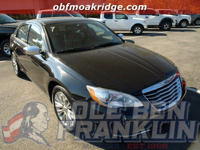 2013 CHRYSLER 200 LIMITED 4DR SEDAN black boasts 29 highway mpg and 19 city mpg this chrysler 20